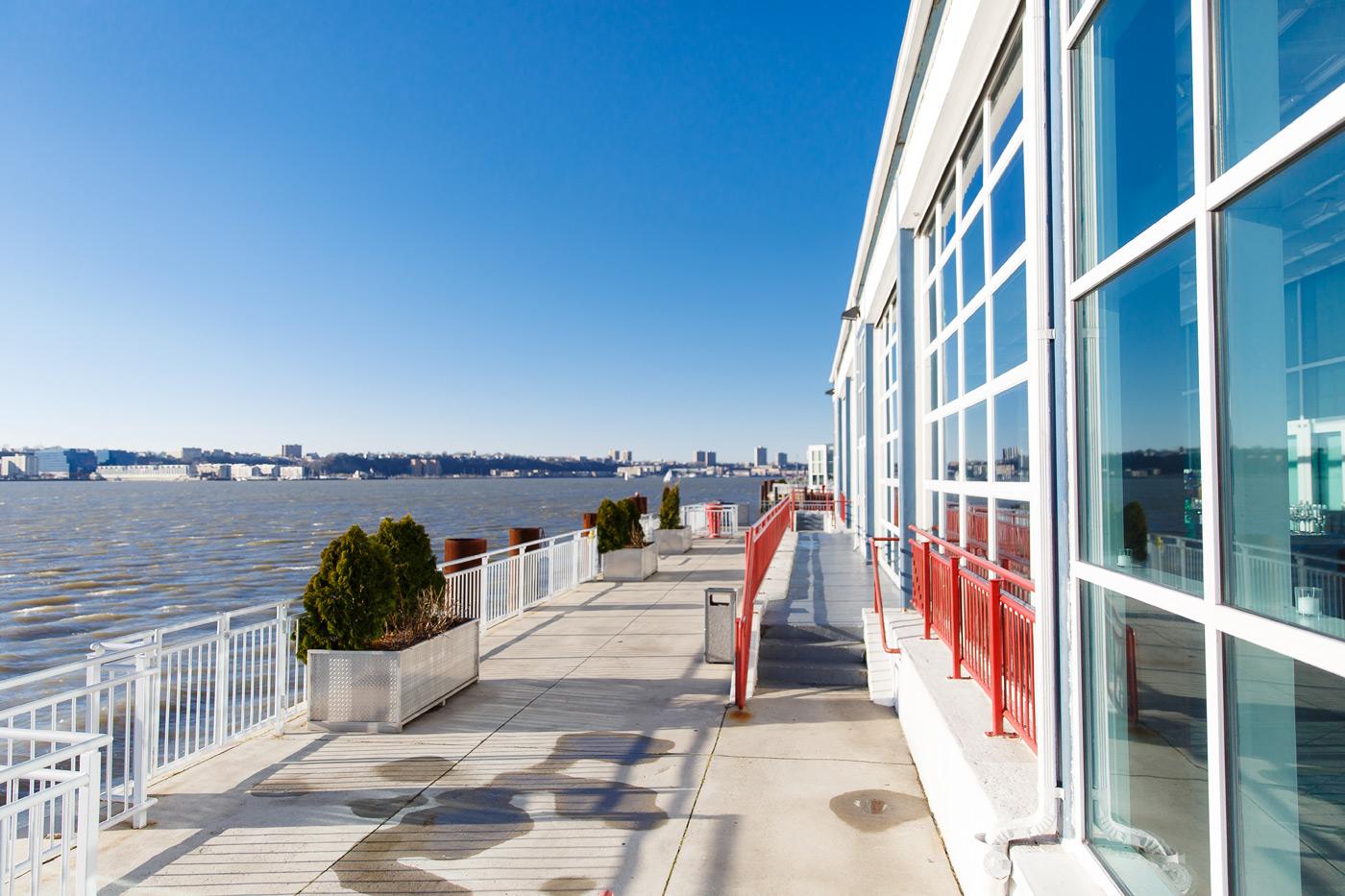 Pier Sixty Veranda, Hudson River Views, Outdoor space