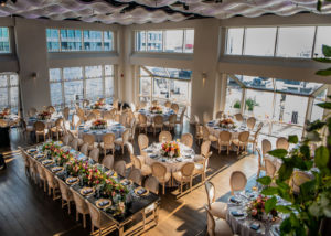 Dinner tables at Current venue