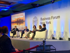 Business Forum New York stage