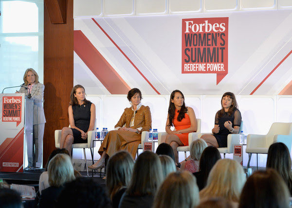 Forbe's women's summit panel