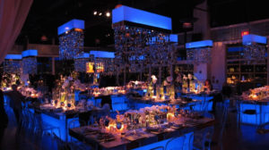 Blue themed mitvah at the lighthouse