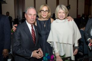 Michael Bloomberg and Martha Stewart