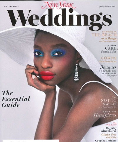 New York Weddings Magazine Cover