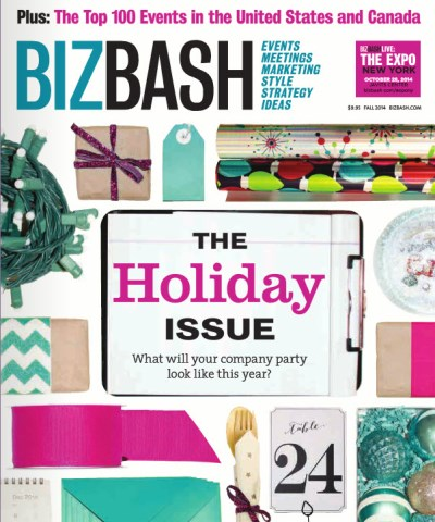 BizBash Magazine Holiday Issue Cover