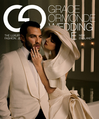 Grace Ormonde Wedding Issue Magazine Cover