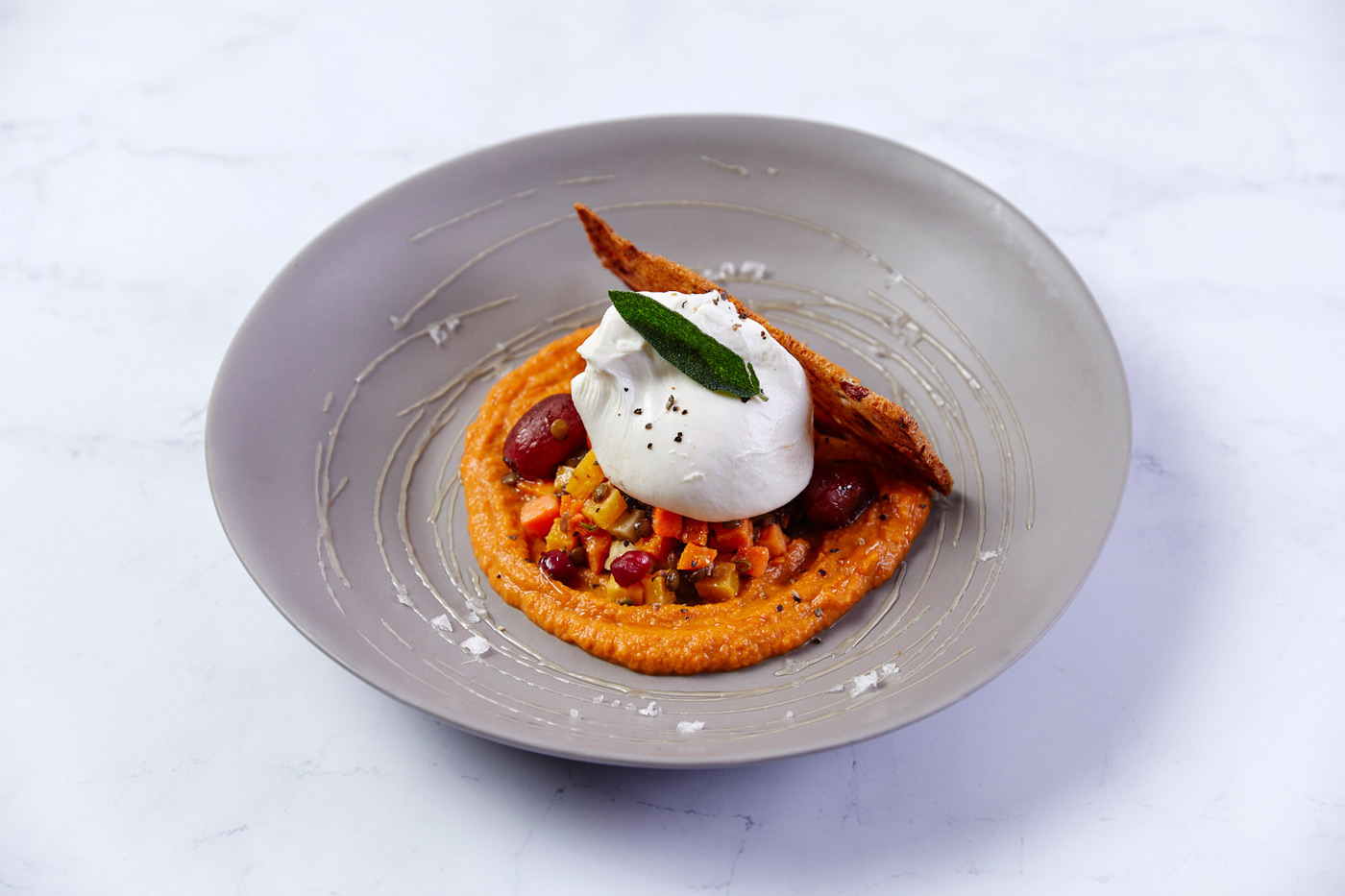 Root Vegetable Burrata