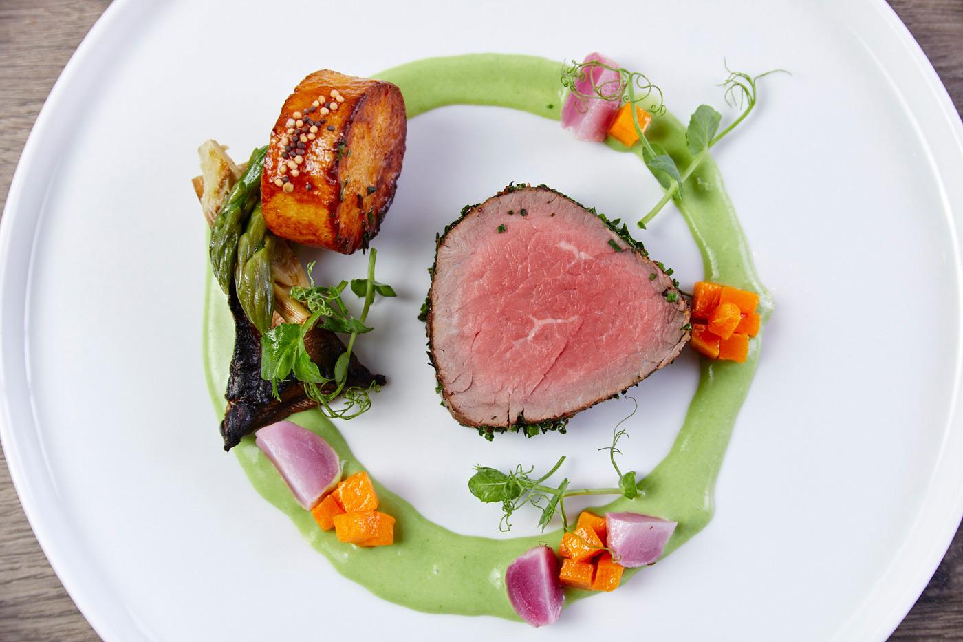 Herbed Tenderloin Beef