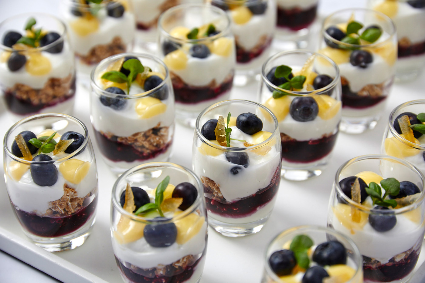 Lemon Blueberry Parfait