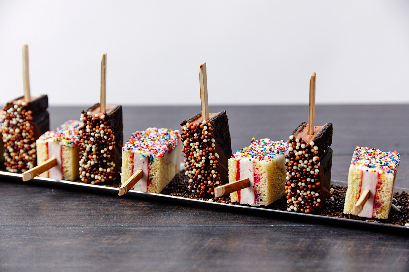 Butlered Ice Cream Sandwich Pops