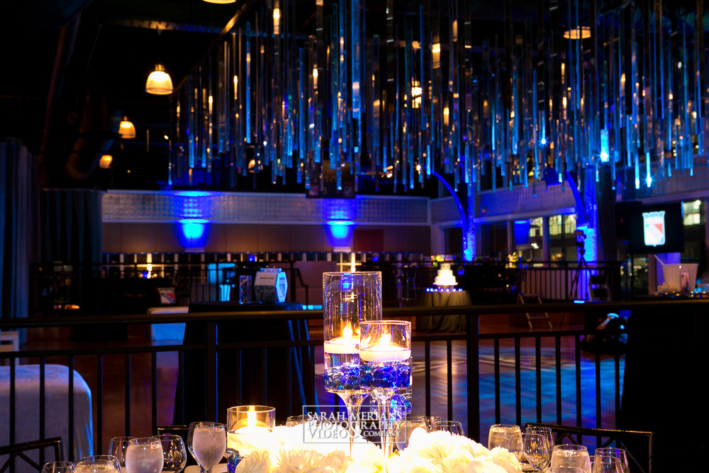 Tables set for glamorous Mitzvah at Lighthouse