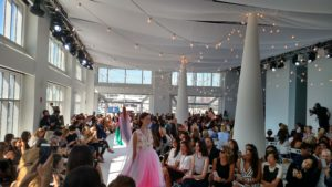 Mid-day fashion show at Current