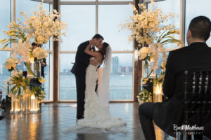 Bride and Groom Ceremony at the lighthouse