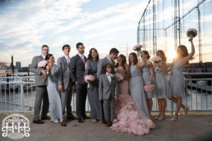 Bridal Party pictures in the Current Veranda