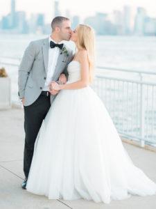Bride and Groom at the Veranda