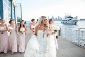 Bride and Bridesmaids in the Veranda
